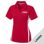 LST685 - EMB - Ladies Colorblock Wicking Polo