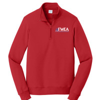 PC850Q - EMB - 1/4 Zip Pullover Sweatshirt