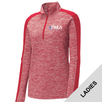 LST397 - EMB - Ladies 1/4 Zip Pullover